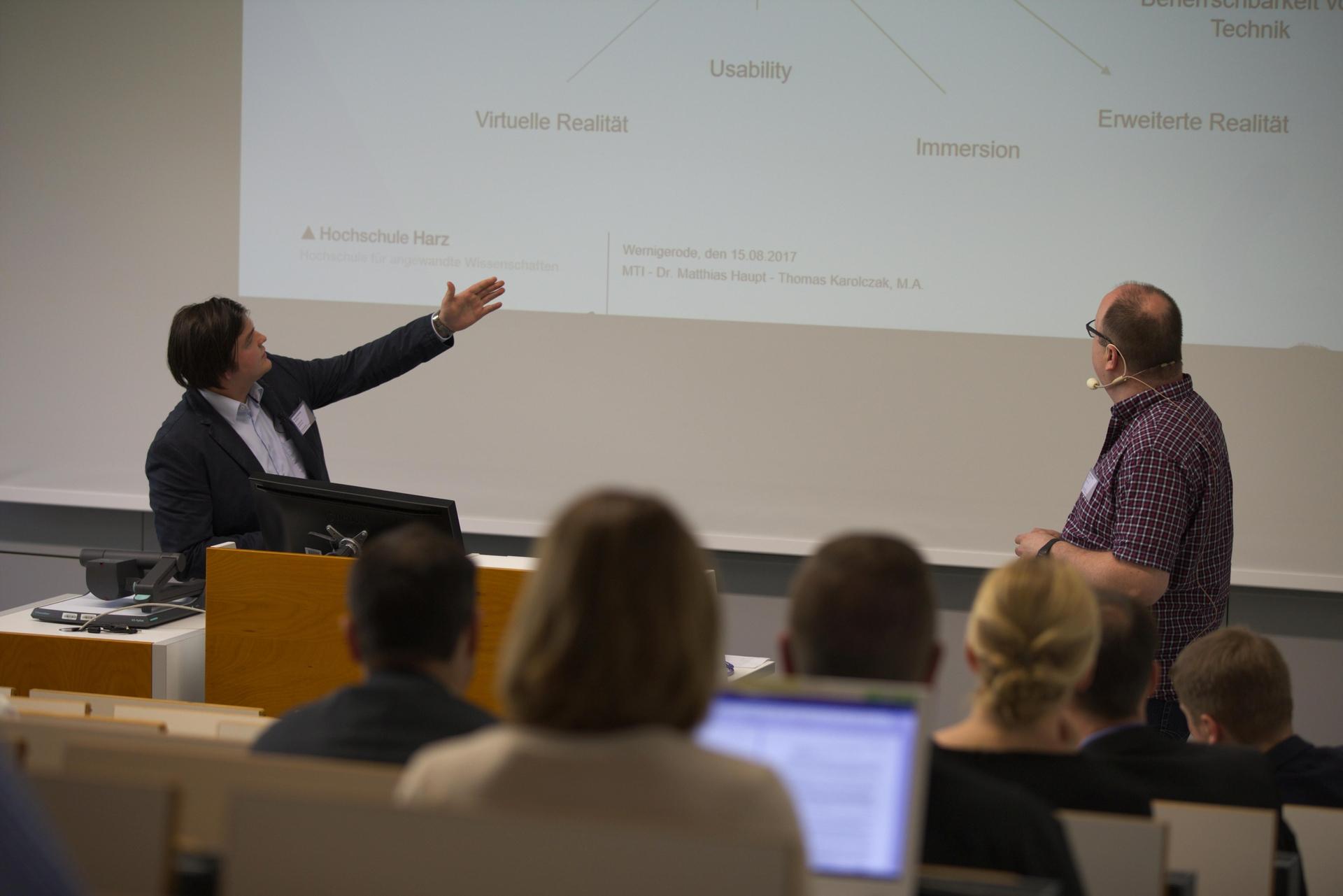 Thomas Karolczak und Dr. Matthias Haupt